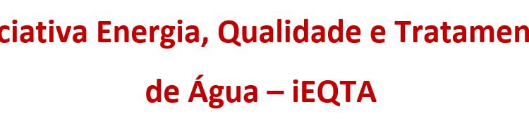 Iniciativa Energia, Qualidade e Tratamento de Água – iEQTA